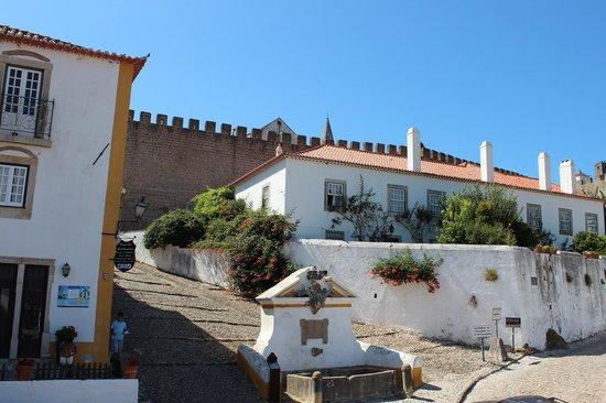Hotel Real D'Obidos : Vista do hotel