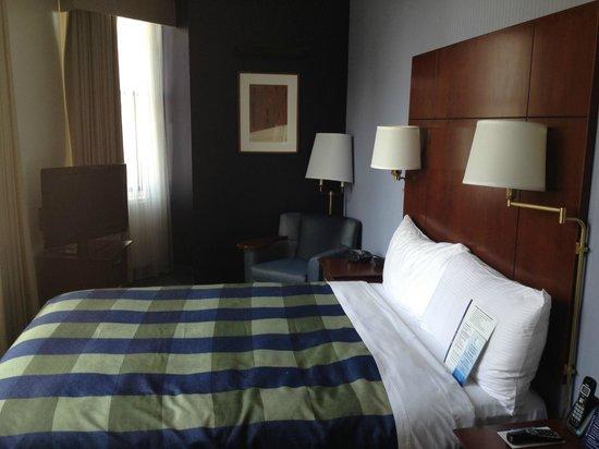 Club Quarters Hotel, Wacker at Michigan : Bedroom