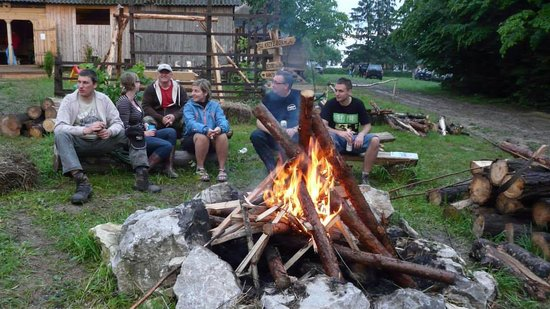 Świętokrzyskie, Polska: Pole namiotowe