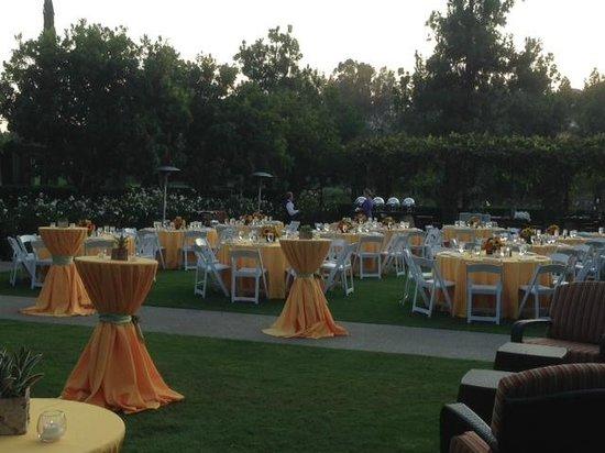 Rancho Bernardo Inn: Conference Dinner on the Aragon Lawn