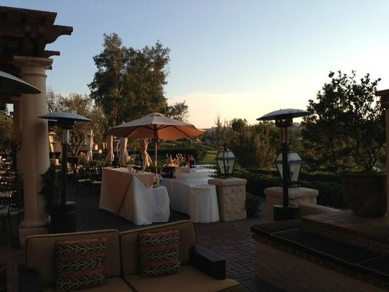 Rancho Bernardo Inn: Dinner Reception on the Patio