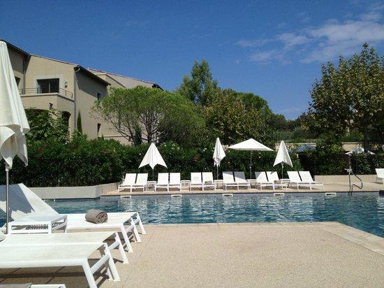 Le Mas du Grand Vallon : pool area