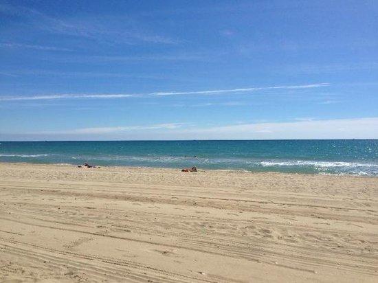 La Torreta : The beautiful beach is seconds from La Torretta