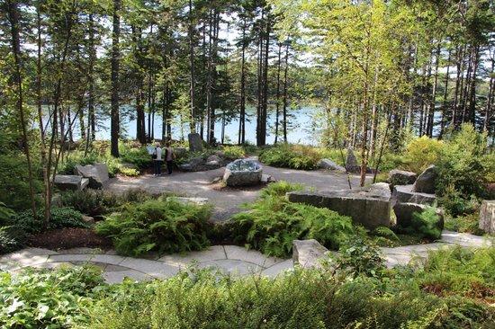 Vayo Meditation Garden Picture Of Coastal Maine Botanical Gardens Boothbay Tripadvisor