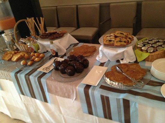 Le Mas du Grand Vallon : the breakfast