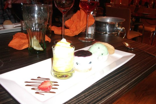 The Black Rock Grill : Lovely desert