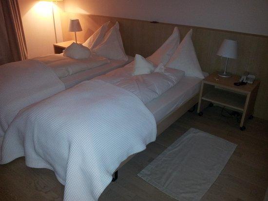 Hotel Jean-Jacques Rousseau : Stanza