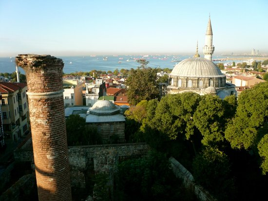 Ada Hotel Istanbul: Room with a view