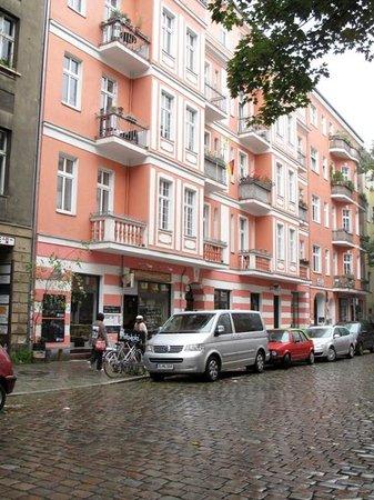 Huettenpalast: Outside the hotel