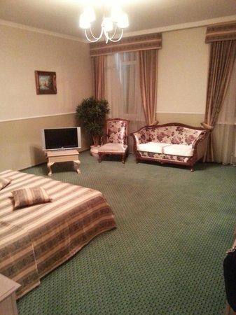 Hermitage Hotel: The bedroom
