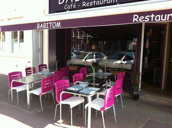Babitom Café Restaurant : la terrasse