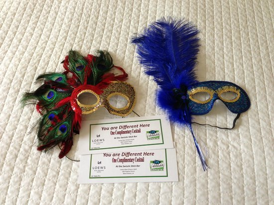 Loews New Orleans Hotel : Loews 'You Are Different Here' Package Gifts