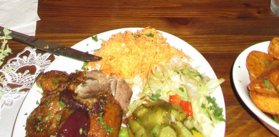 Aromat-kuchni: Roast Duck with Pickle Salad - recommended