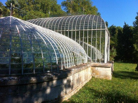 Chateau de Roussan : Greenhouse