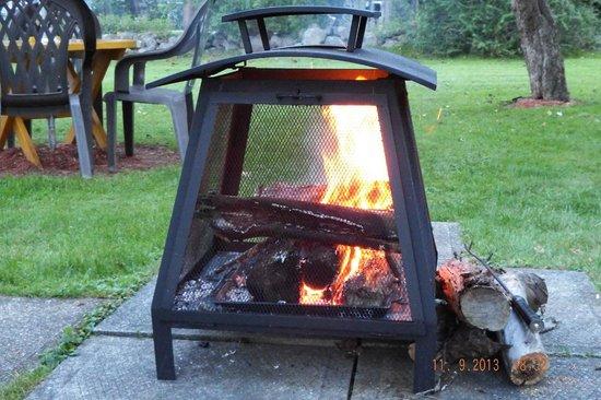 Picket Fence Motel: Fire Pit