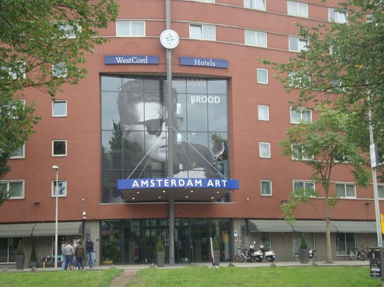 WestCord Art Hotel Amsterdam : Front of Hotel