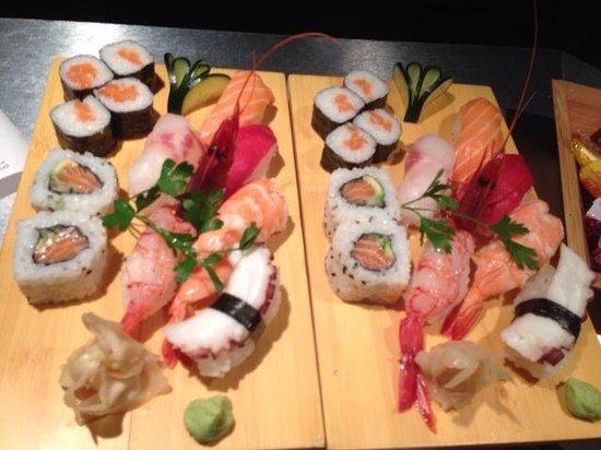 Asahi : Sushi misto