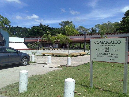 Comalcalco, เม็กซิโก: Entrada principal