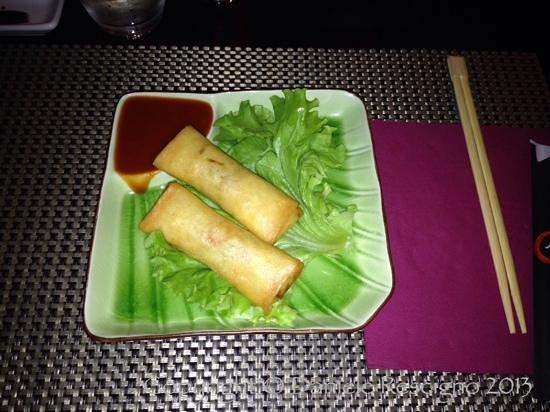 Akira Sushi Bar: involtini primavera