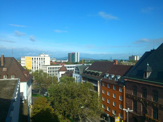 Mercure Hotel Freiburg am Muenster : Zimmer 523, Aussicht