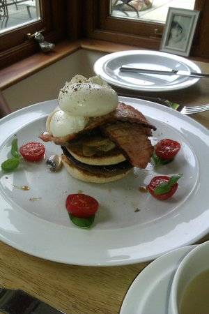 Bodhi House: Breakfast Stack - it was amazing!