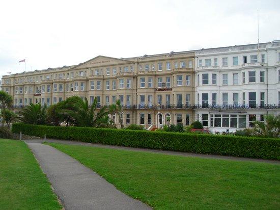 Best Western Lansdowne Hotel: Front elevation