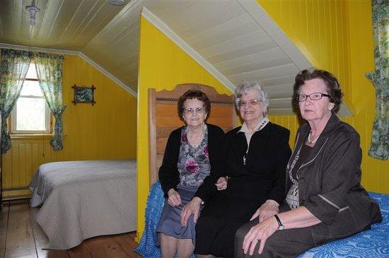 Lac-Drolet, Kanada: Nées dans notre gîte