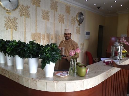 Seeb, Oman: الإستقبال