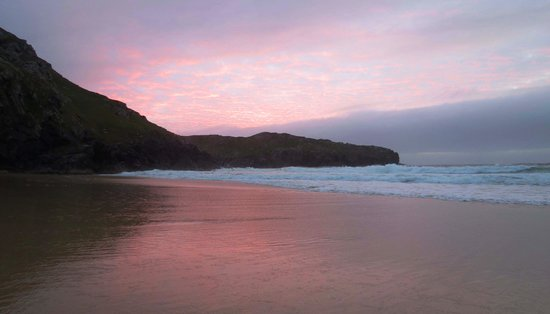 Carloway, UK: Sunset at Dalmore Bay