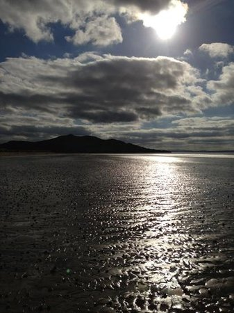 Lisfannon Strand: tide out