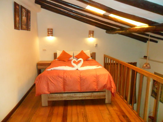 Casa Hospedaje Hatun Quilla: habitacion Matrimonial tipo suite con mesanine
