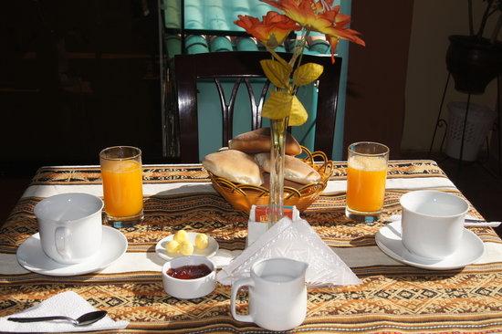 Casa Hospedaje Hatun Quilla: Desayuno