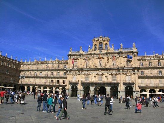 Hotel Puente Romano de Salamanca: Plaza Mayor