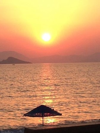 Magic Tulip Oludeniz: Sunset, taken from the beach