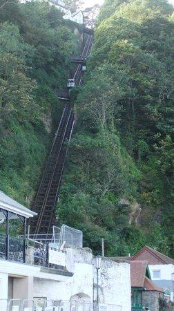 North Walk House: Cliff Railway