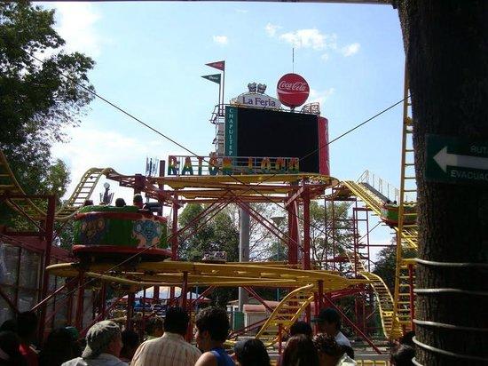 La Feria de Chapultepec: diversao