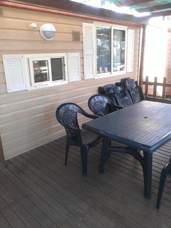 Park Albatros: veranda