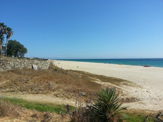Hostal La Hormiga Voladora: Beach in front of hostel