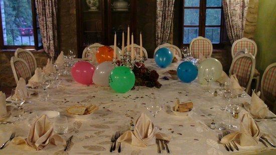 Casale Belforte: Birthday party