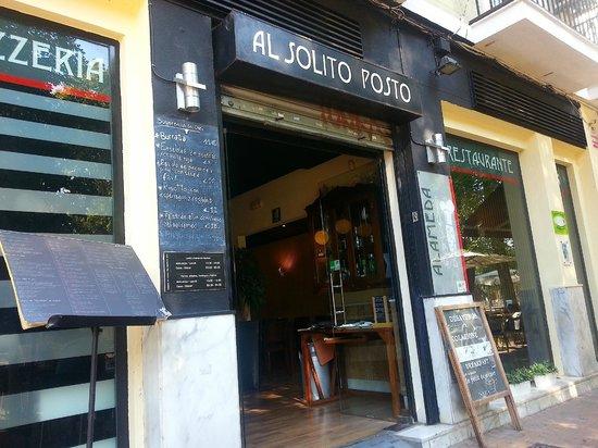 Al Solito Posto: the exteriors