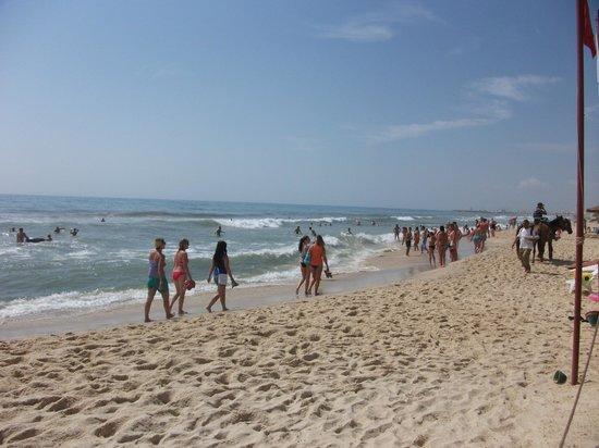 Hotel Menara: Hammamet beach
