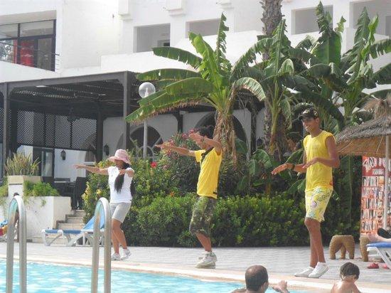 Hotel Menara: aqua gym