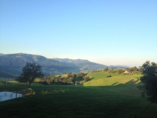 Guggisberg, Schweiz: View from our room.