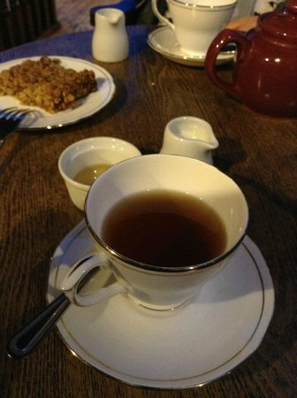 Quilliam Brothers: Stollen tea - sounds weird but it's to die for!