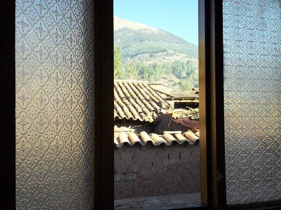 GringoWasi Bed and Breakfast: La ventana: Un cuadrito!