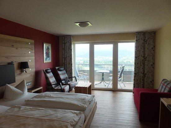 Landhotel Panorama: Comfortable Bed