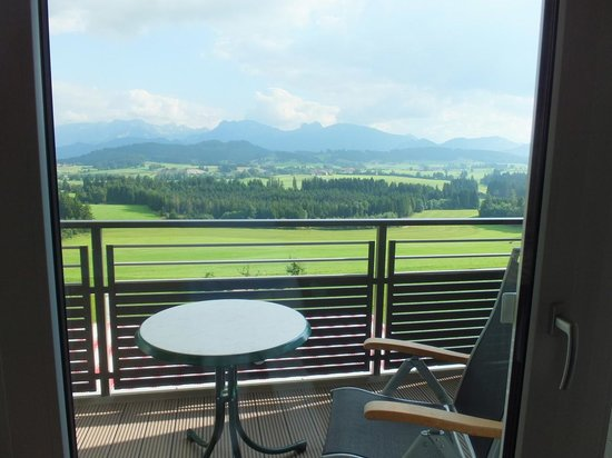 Landhotel Panorama: View from Balcony.