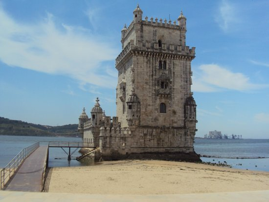 เบเลม: Torre de Belém, fechada as segundas feiras.