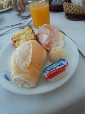 Pousada Santorini : café da manhã