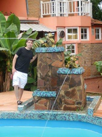 La Sorgente Hotel Posada: Cascada
